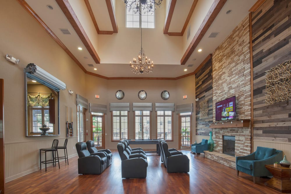 Entrance in the clubhouse at Panther Effingham Parc Apartments in Rincon, GA