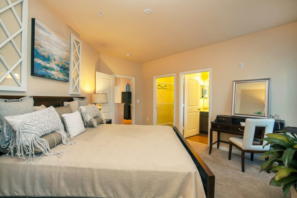 Bedroom at Integra Hills Apartment Homes in Ooltewah, TN