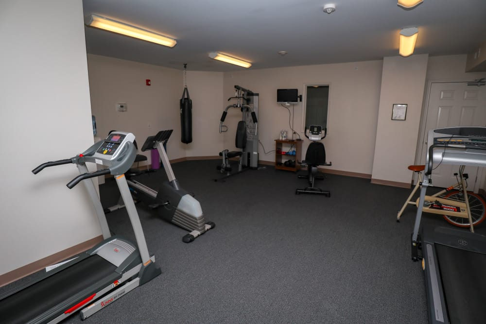 Turtle Creek Apartments offers a luxury fitness center in Getzville, New York