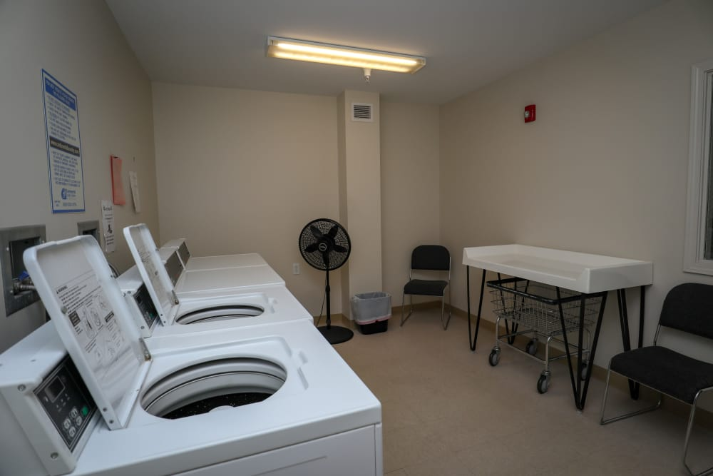 Laundry facility at Turtle Creek Apartments in Getzville, New York