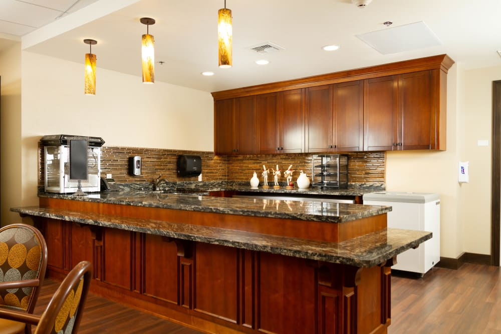Beautiful kitchen at The Terraces in Chico, California