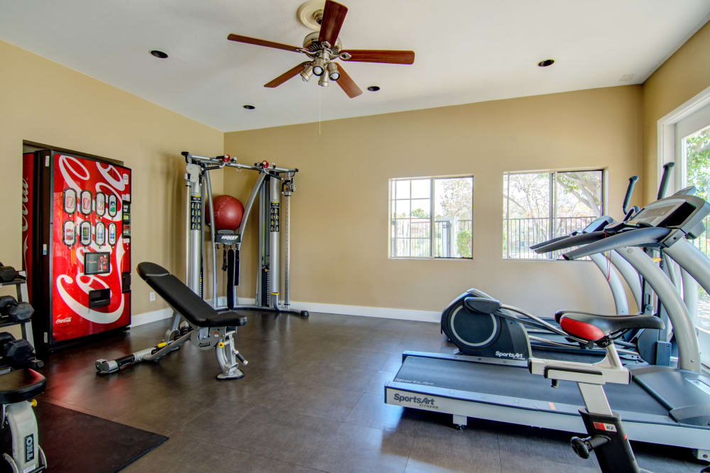 Fitness Center at Sunset View Apartments in Oceanside, CA