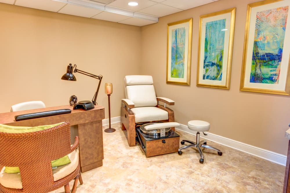 Onsite therapy at Symphony at Boca Raton in Boca Raton, Florida.