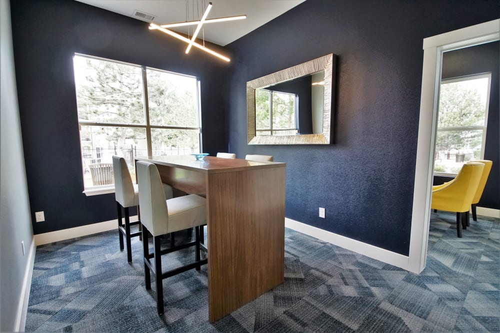 Our Apartments in Castle Rock, Colorado offer a Clubhouse w/ a Business Center