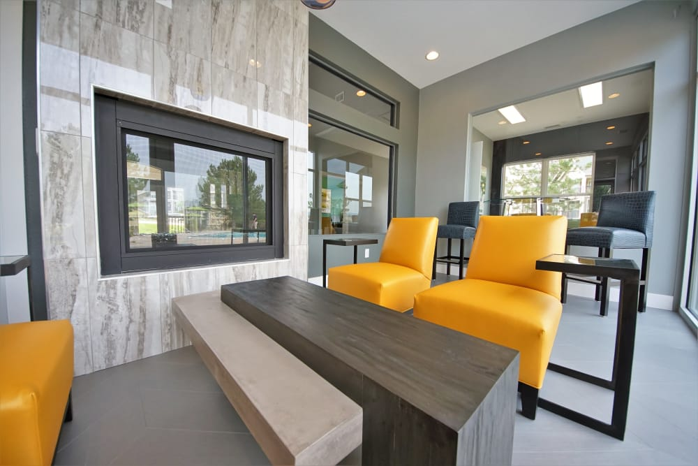 Our Apartments in Castle Rock, Colorado offer a Beautiful Clubhouse