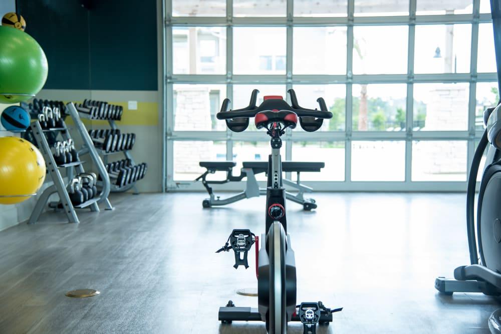 Spin bike at Springs at Juban Crossing