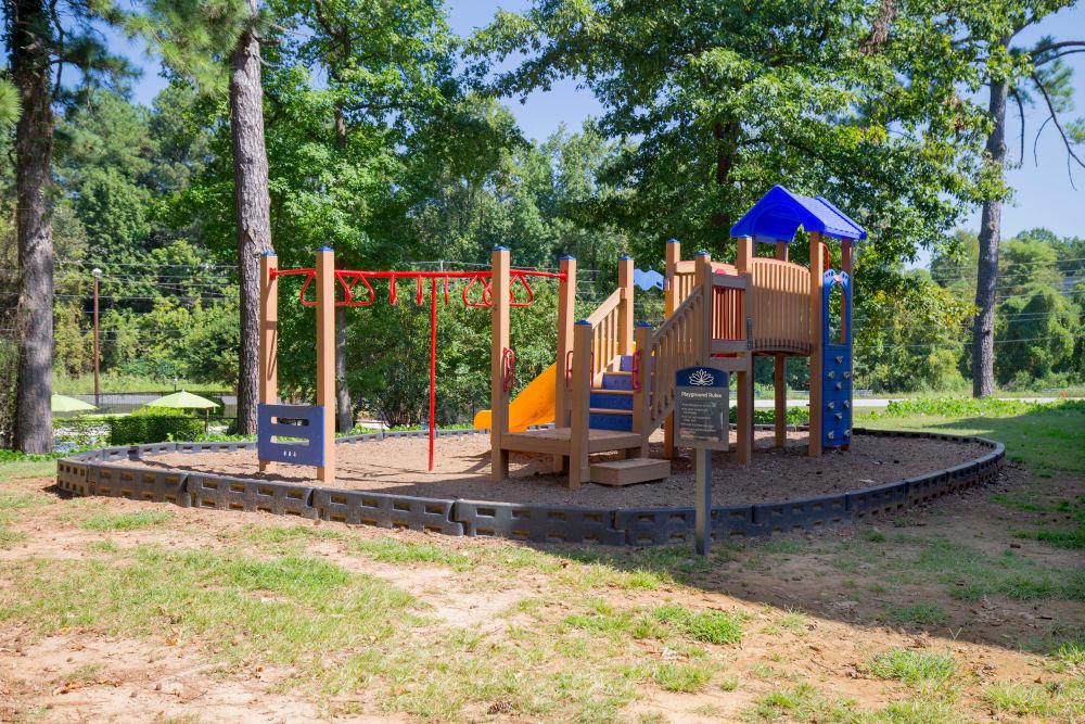 Playground at Avondale Reserve in Avondale Estates, Georgia