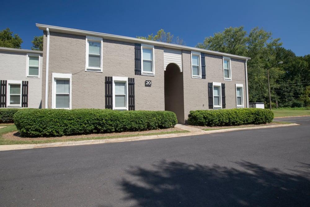 Front view of Avondale Reserve apartments in Avondale Estates, Georgia