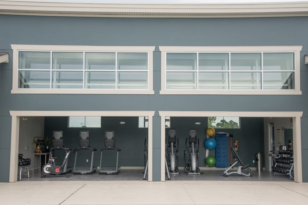 Fitness center at Springs at Country Club