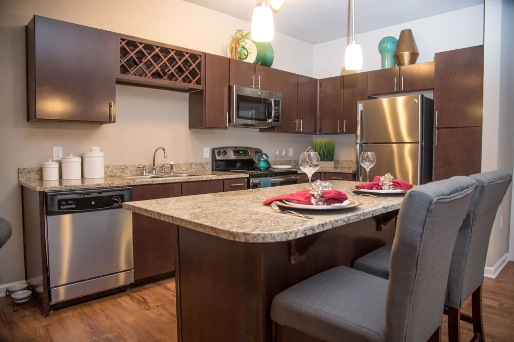 Kitchen at Springs at Country Club