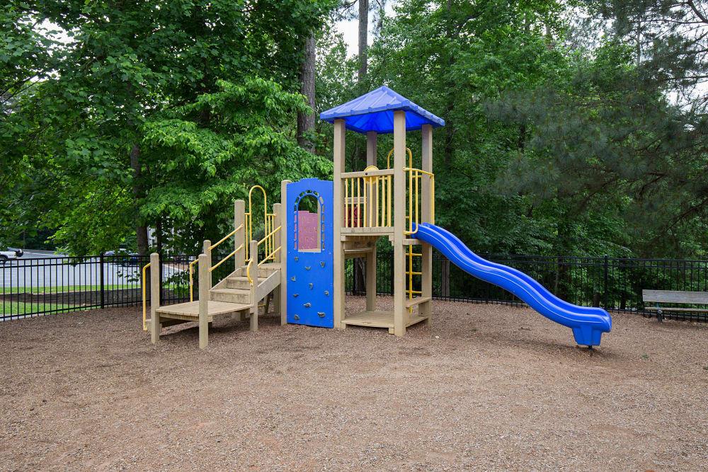 Spacious playground at Gregory Lane in Acworth, Georgia