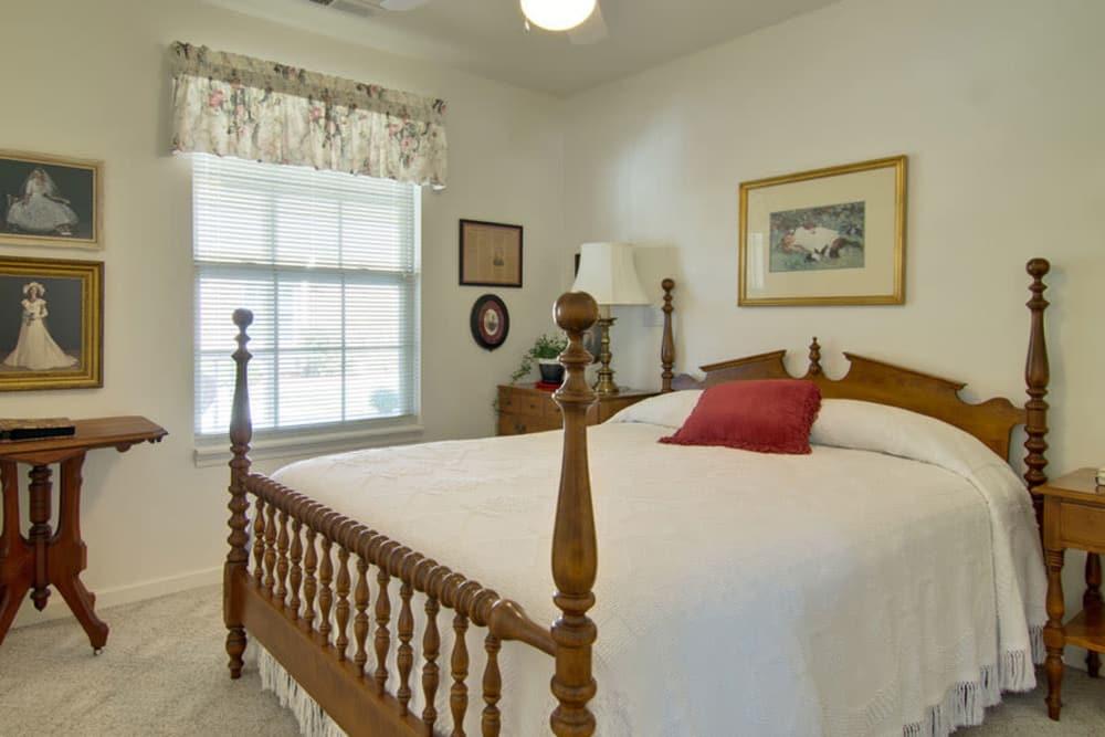 One bedroom floor plan at St. Francis Park Senior Living in Kennett, Missouri