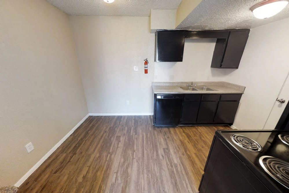 Enjoy luxury hardwood floors at Maple Trail Apartments & Townhomes