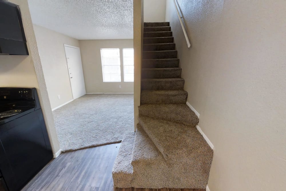 Two story apartments in Pasadena, Texas
