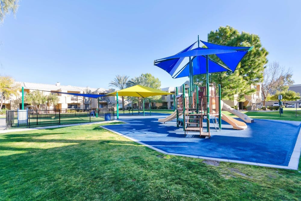 Onsite playground at The Boulevard in Phoenix, Arizona