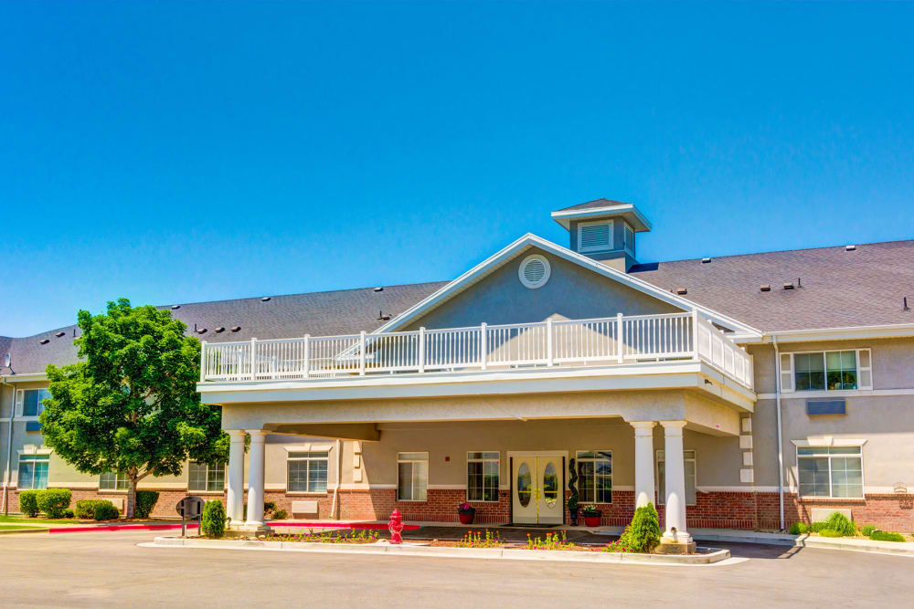 The Wentworth at Draper offers Assisted Living and Memory Care