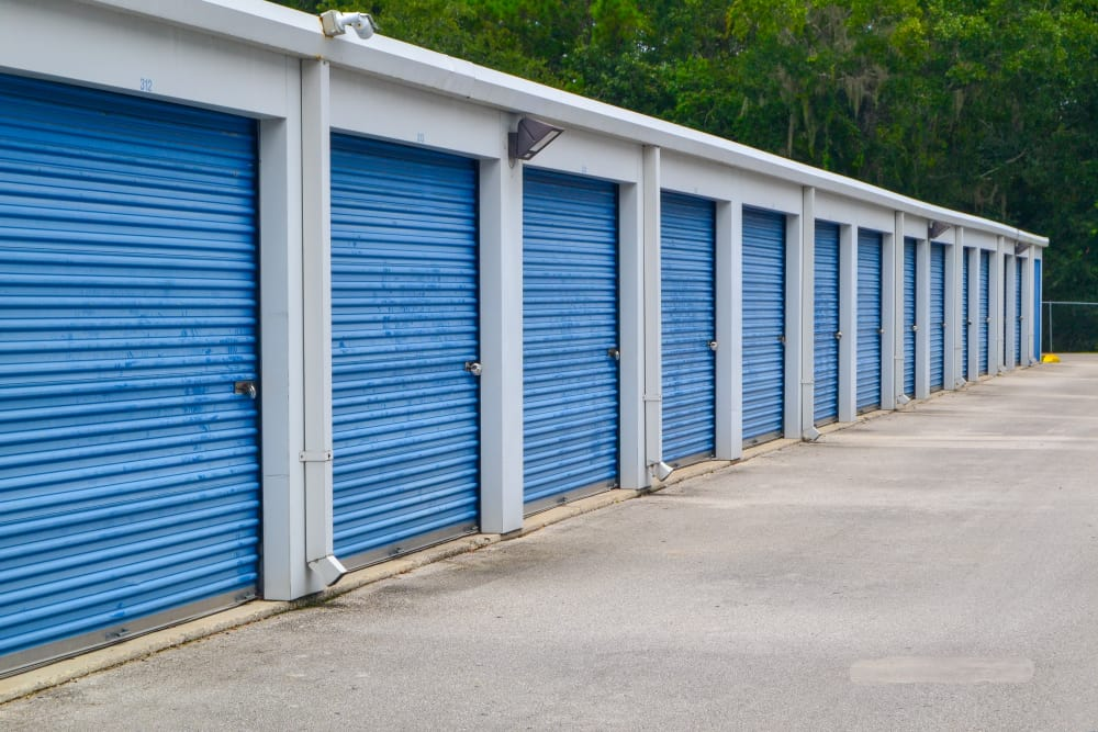 Outdoor Storage Units at Atlantic Self Storage