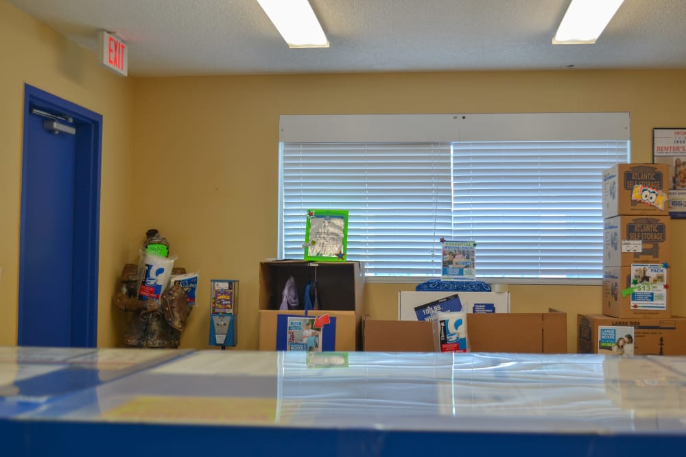 Packing Supplies for Sale at Atlantic Self Storage