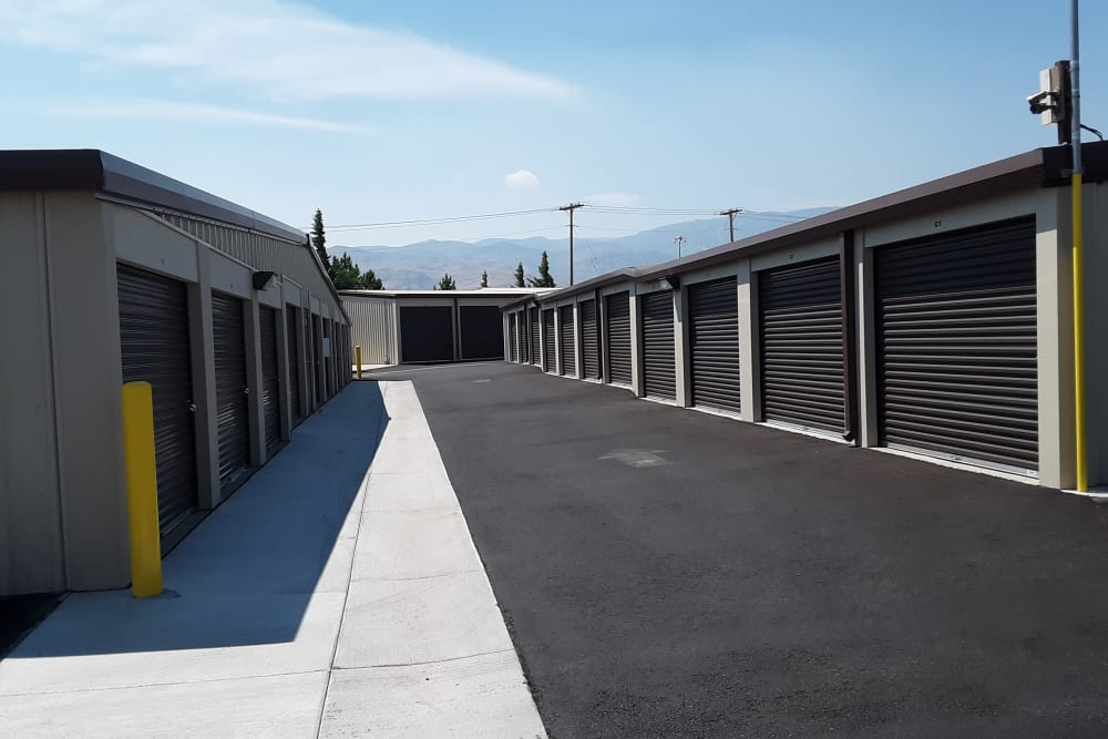 Interstate U-Stor in Reno, Nevada exterior storage units