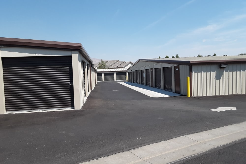 Interstate U-Stor features exterior storage units in Reno, Nevada