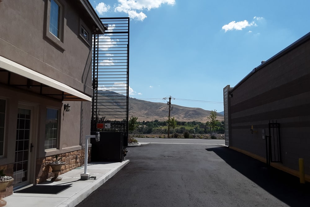 Interstate U-Stor features a secure storage facility access gate in Reno, Nevada