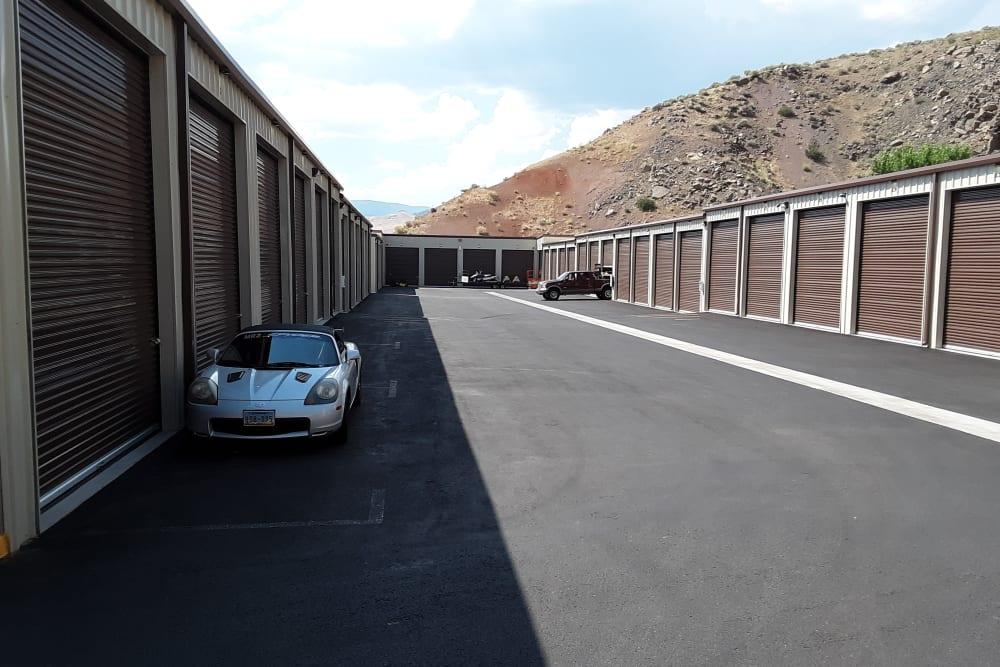 Interstate U-Stor in Reno, Nevada exterior storage units