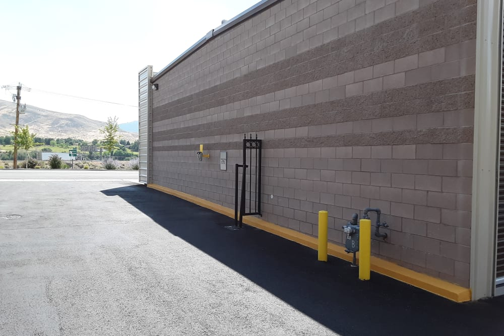 Clean exterior storage units at Interstate U-Stor in Reno, Nevada