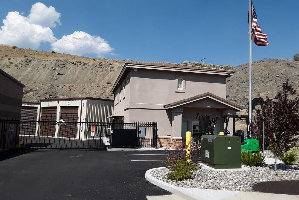 Reno, Nevada storage facility street view