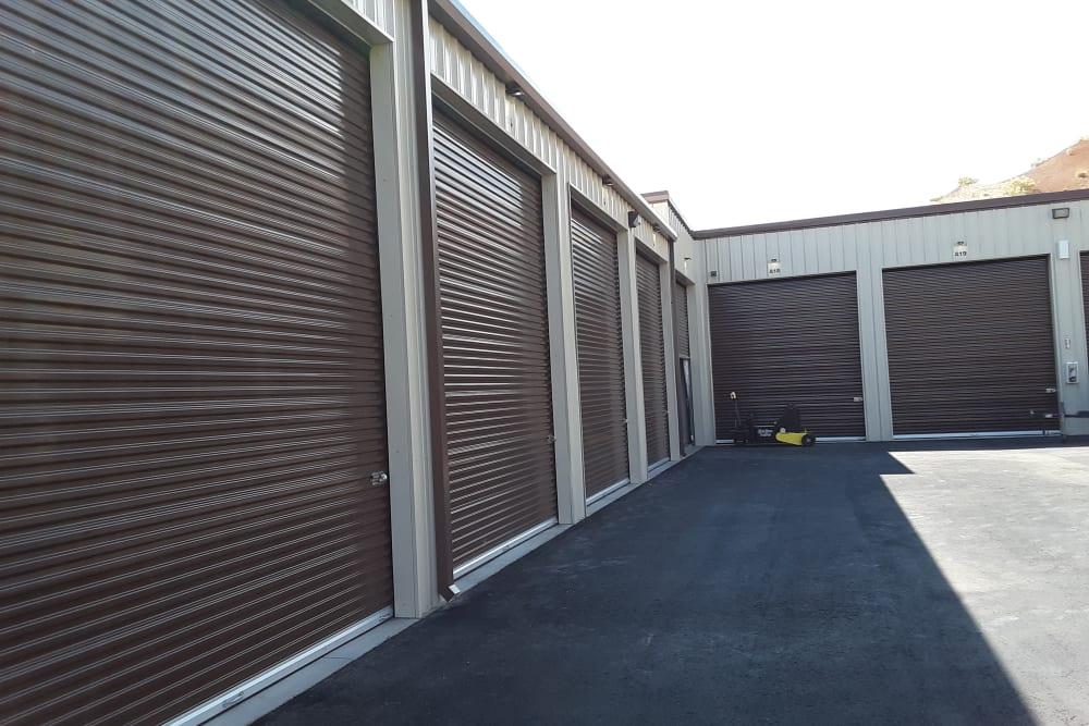 Reno, Nevada storage facility exterior storage units