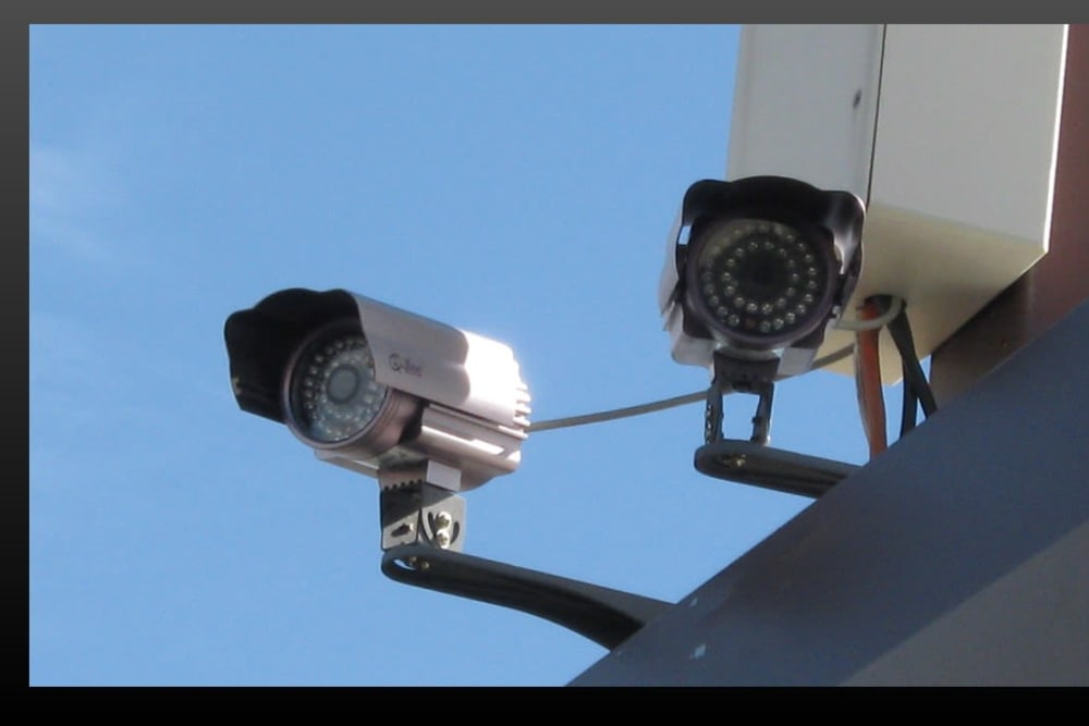 We feature security cameras at our storage facility in Reno, Nevada