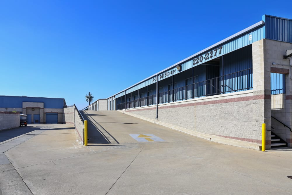 Exterior of our facility at A-1 Self Storage in Anaheim, California