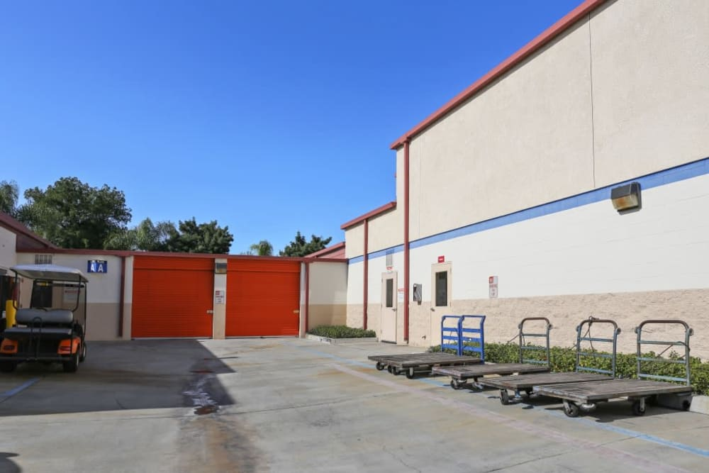 Security gate in Fullerton, CA | A-1 Self Storage