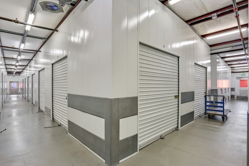Interior storage units in Huntington Beach, CA | A-1 Self Storage
