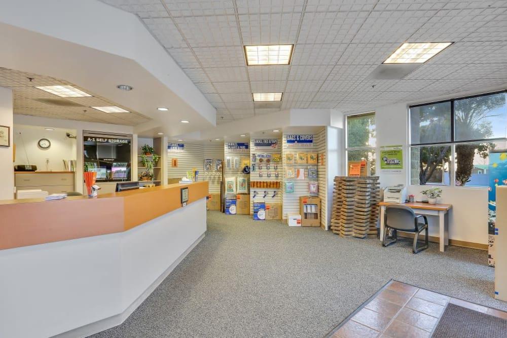 customer service area in Huntington Beach, CA | A-1 Self Storage
