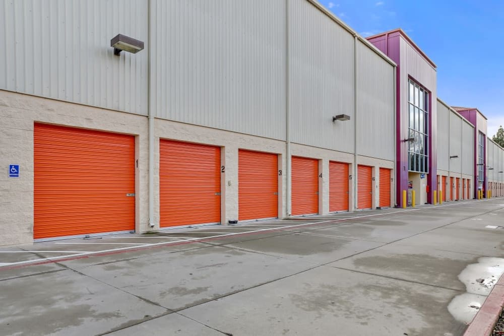 exterior storage units in San Jose, CA | A-1 Self Storage