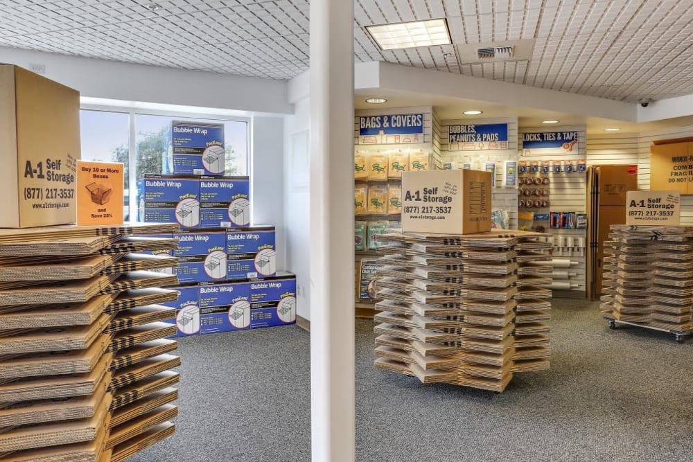 packing supplies in San Jose, CA | A-1 Self Storage