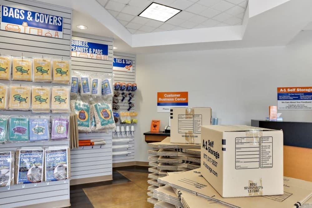Moving supplies in San Jose, CA | A-1 Self Storage