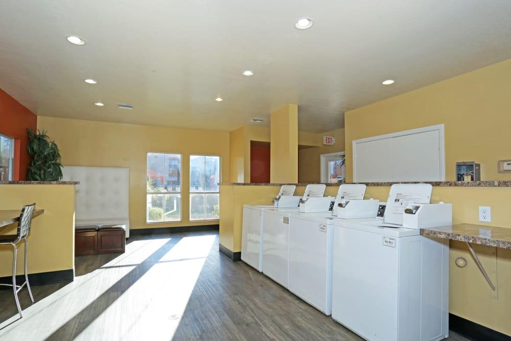Onsite laundry facility at Solis at Flamingo in Las Vegas, Nevada