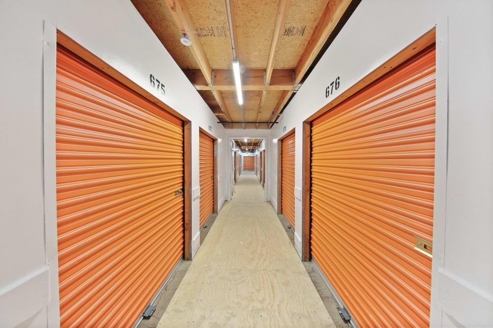 Interior storage units in La Mesa, CA | A-1 Self Storage