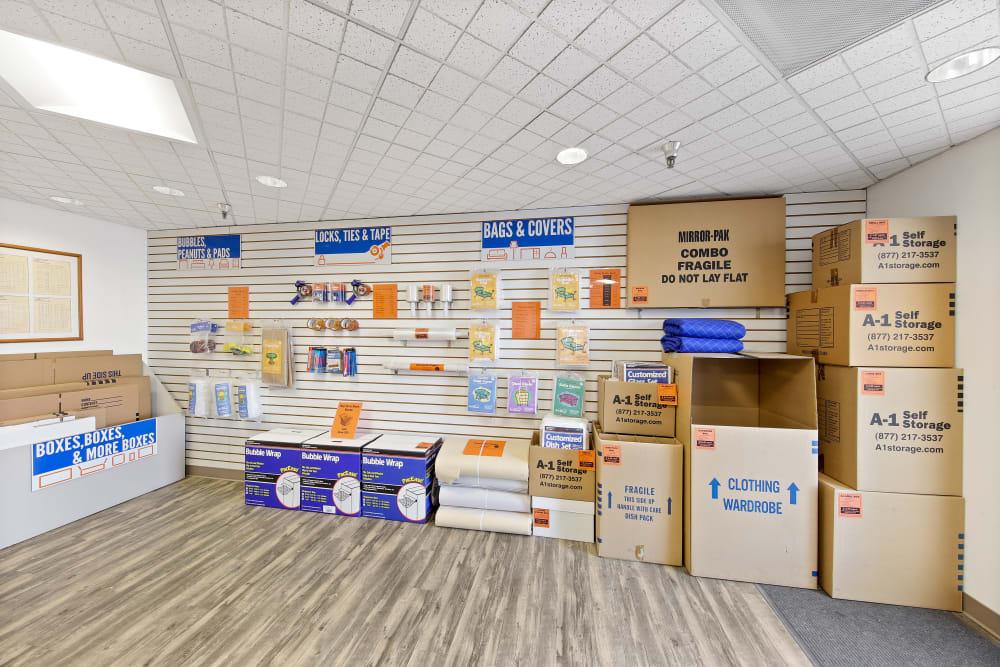 packing supplies in La Mesa, CA | A-1 Self Storage