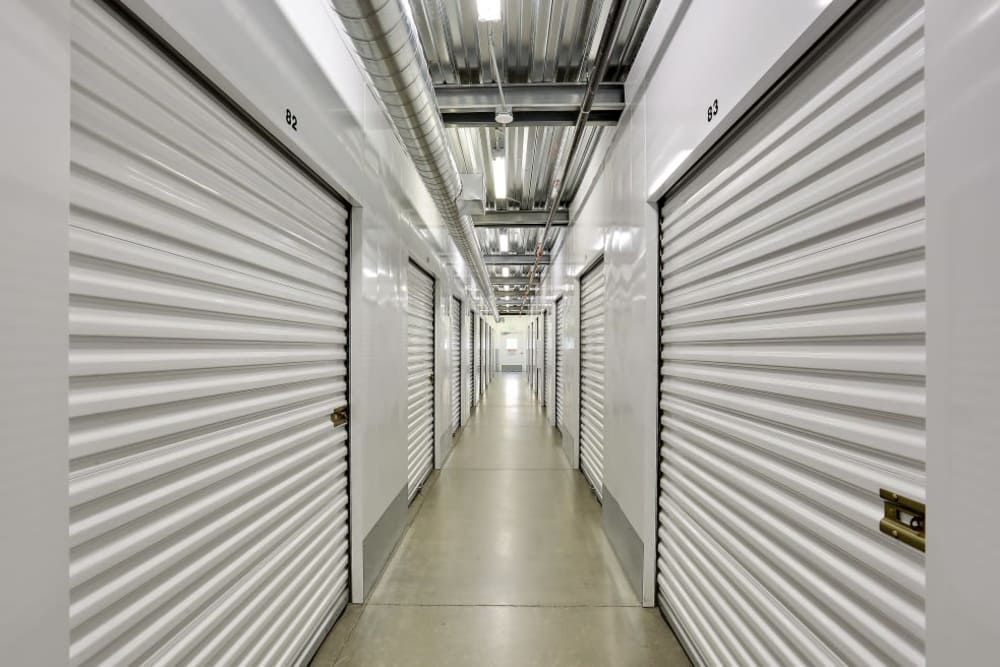interior storage units at A-1 Self Storage in San Diego, CA