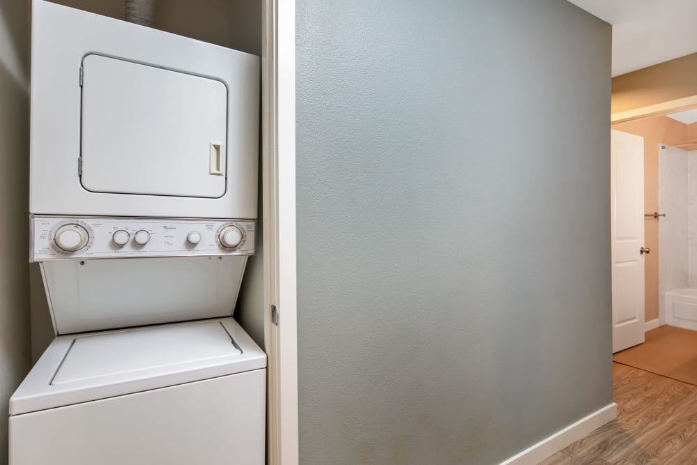 Washer and Dryer at Aire Apartments in Seattle, WA