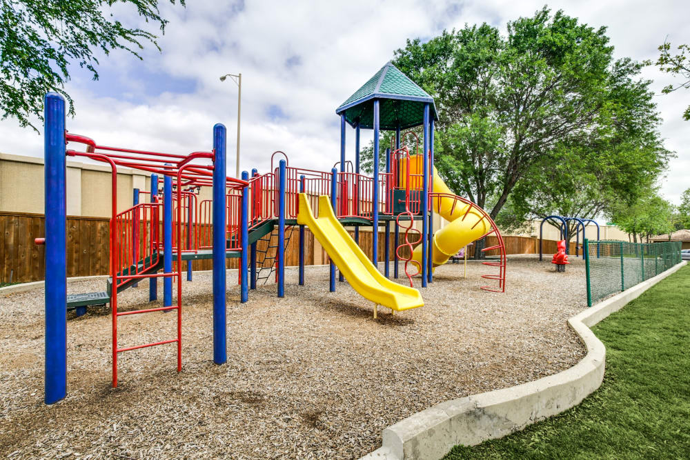 Playground at Estates on Frankford in Dallas, Texas