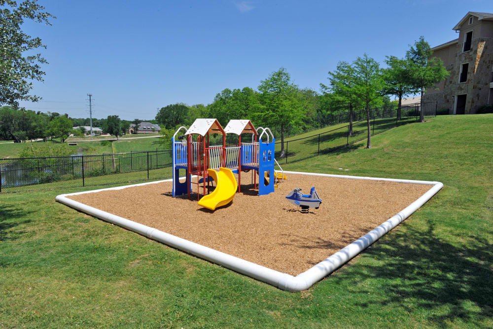 playground at El Lago Apartments in McKinney, Texas