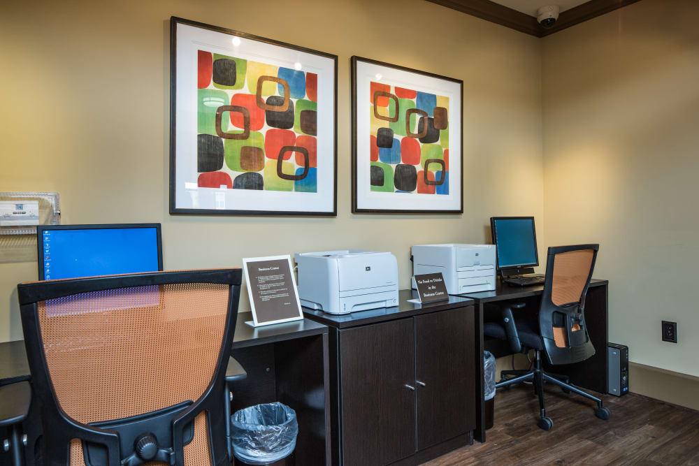 Business center at Enclave at Highland Ridge in Columbus, Georgia