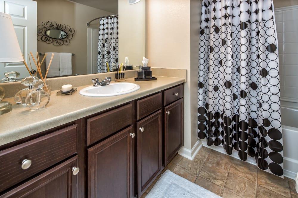 Master bathroom at Enclave at Highland Ridge in Columbus, Georgia