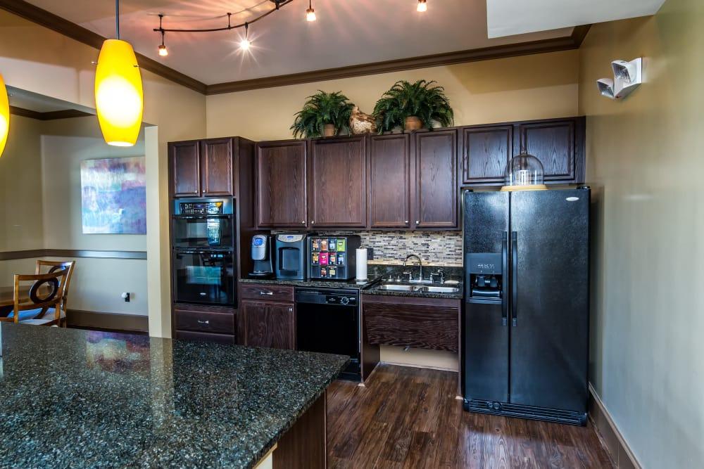 Spacious kitchen at Enclave at Highland Ridge in Columbus, Georgia