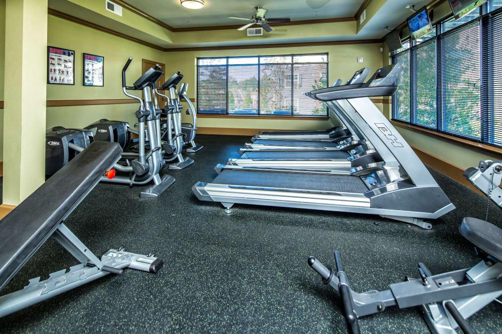 Fitness center in Columbus, Georgia at Enclave at Highland Ridge
