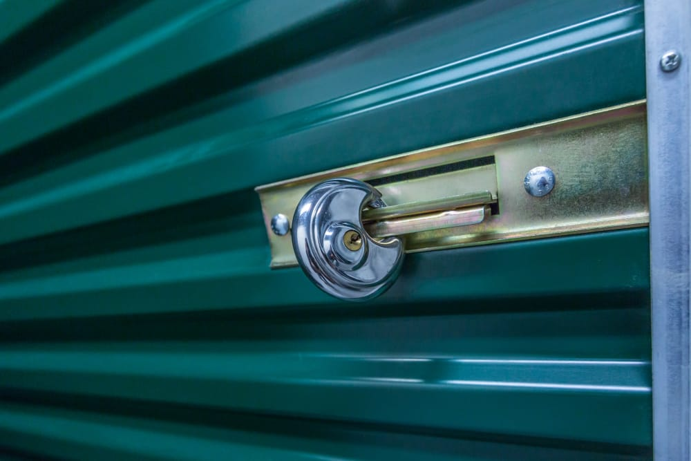 Secure storage unit at Compass Self Storage in Tavares, Florida