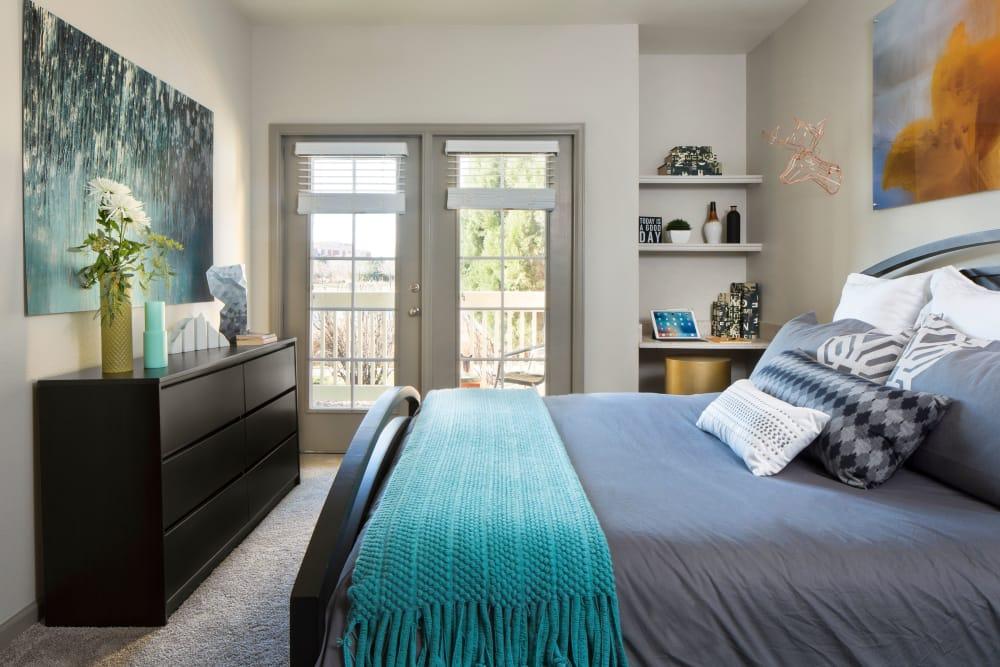 Bedroom at Gateway Park Apartments in Denver, CO